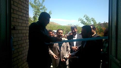افتتاح دو مرکز دامپزشکی در شهرهای لوجلی و قوشخانه با حضور دکتر عزیزی