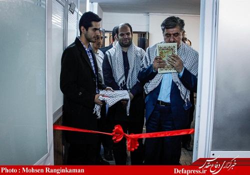 دکتر عبدالرضا عزیزی_افتتاحیه دفتر بسیج رسانه خبرگزاری دفاع مقدس 6