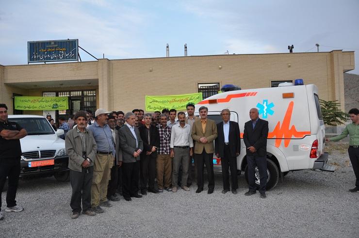 تخصیص یک دستگاه آمبولانس به مرکز بهداشتی درمانی روستایی اوغاز