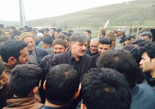 دیدار دکتر عزیزی در دومین روز سال ۹۴ با مردم منطقه جیرستان شیروان