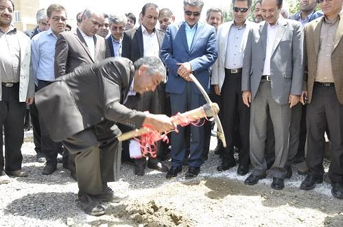 کلنگ پروژه احداث کلینیک ویژه تخصصی شهرستان شیروان زده شد