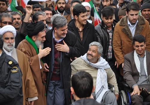 راهپیمایی پرشور مردم شیروان در روز ۲۲ بهمن