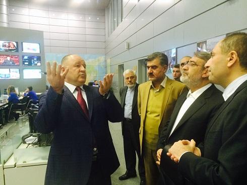 گزارش تصویری سفر دکتر رحمانی فضلی وزیر کشور به روسیه (۲)