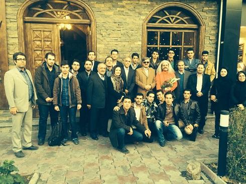 گردهمایی دکتر عبدالرضا عزیزی با دانشجویان شیروانی در تهران