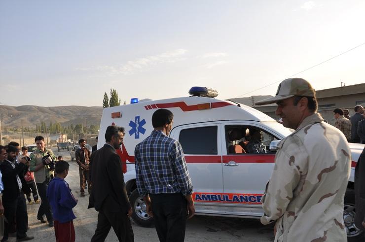 تخصیص یک دستگاه آمبولانس به مرکز بهداشتی درمانی شهر قوشخانه