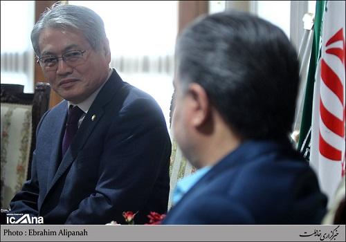 دیدار دکتر عبدالرضا عزیزی ئ نمایندگان پارلمانی کمیسیون بهداشت و امور اجتماعی کره جنوبی