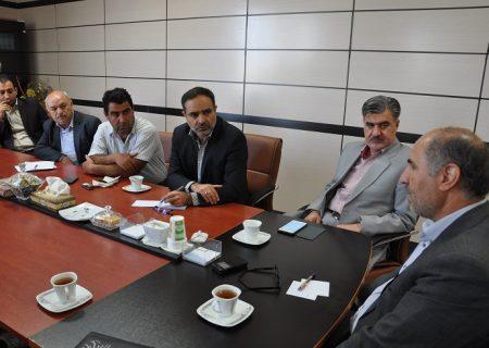 جلسه صنعتگران شیروان با معاون استاندار