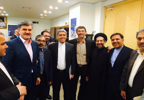 جلسه مجمع نمایندگان ۴ استان با وزیر راه و وزیر اقتصاد و دارایی