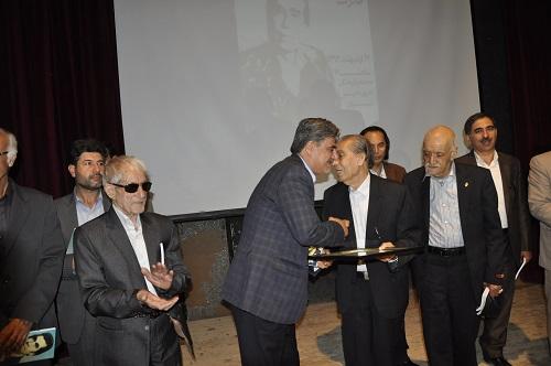 آیین نکوداشت استاد قدرت الله شریفی شاعر شیروانی+ گزارش تصویری