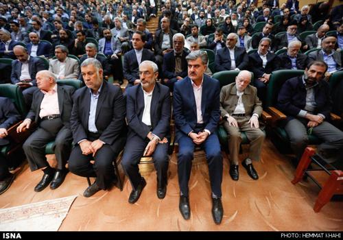 دکتر عزیزی در مراسم تودیع و معارفه رییس کمیته امداد امام خمینی (ره)