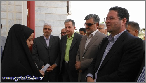 حضور دکتر عزیزی در همایش ملی کارآفرینی در مناطق مرزی تایباد