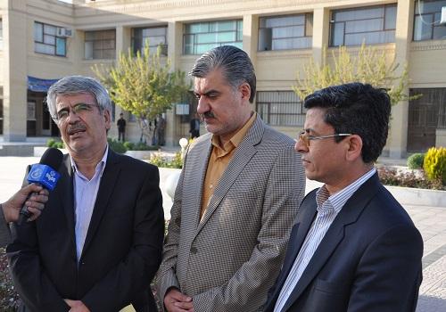 جلسه رواسای دانشگاه های شیروان با دکتر عزیزی و معاونین وزارت علوم