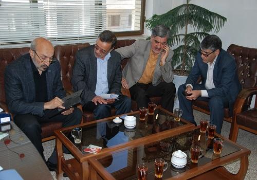 حضور معاون اداری و مالی وزارت علوم در مجتمع آموزش عالی شیروان