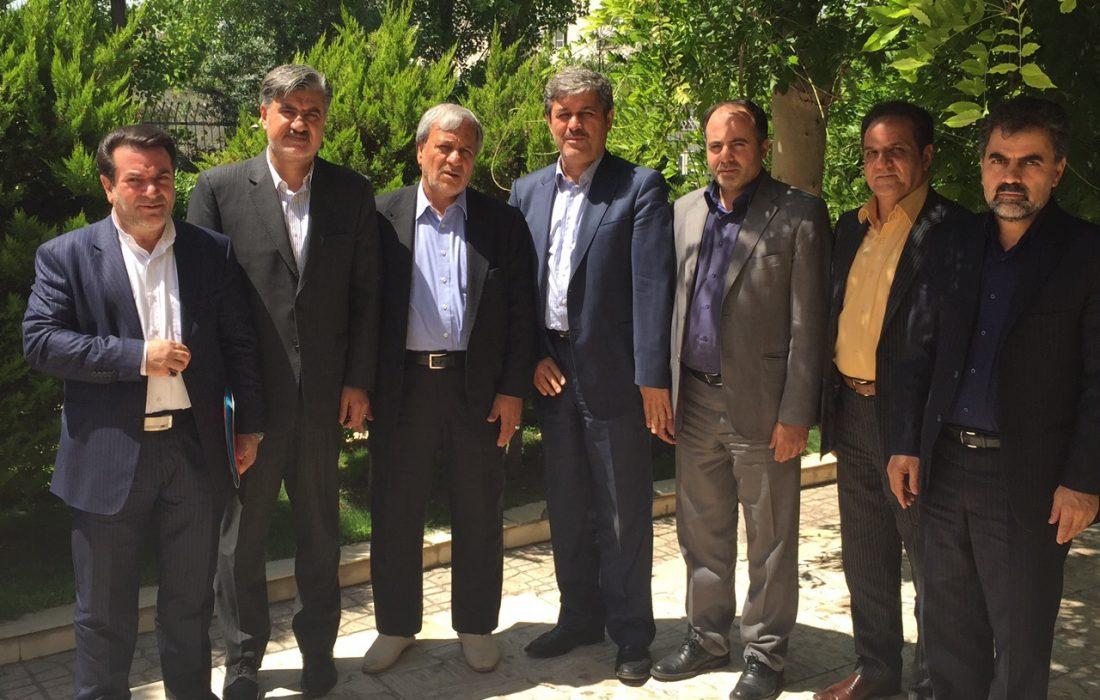 جلسه سه تن از روسای کمیسیون های تخصصی مجلس با معاون رییس جمهور