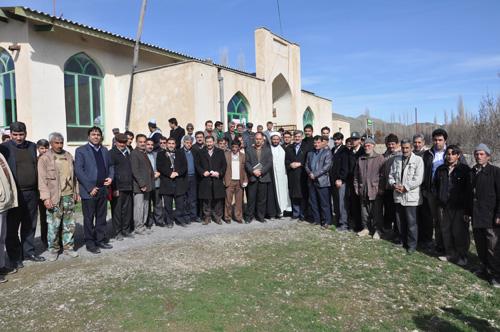 دکتر عبدالرضا عزیزی_دیداری صمیمی با مردم روستای حلواچشمه
