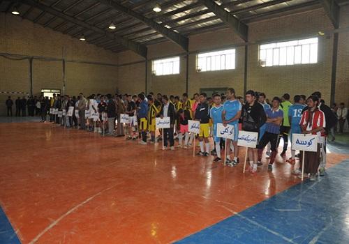 دکتر عزیزی_افتتاحیه مسابقات فوتسال، هندبال و والیبال (جام فجر) در شهر لوجلی