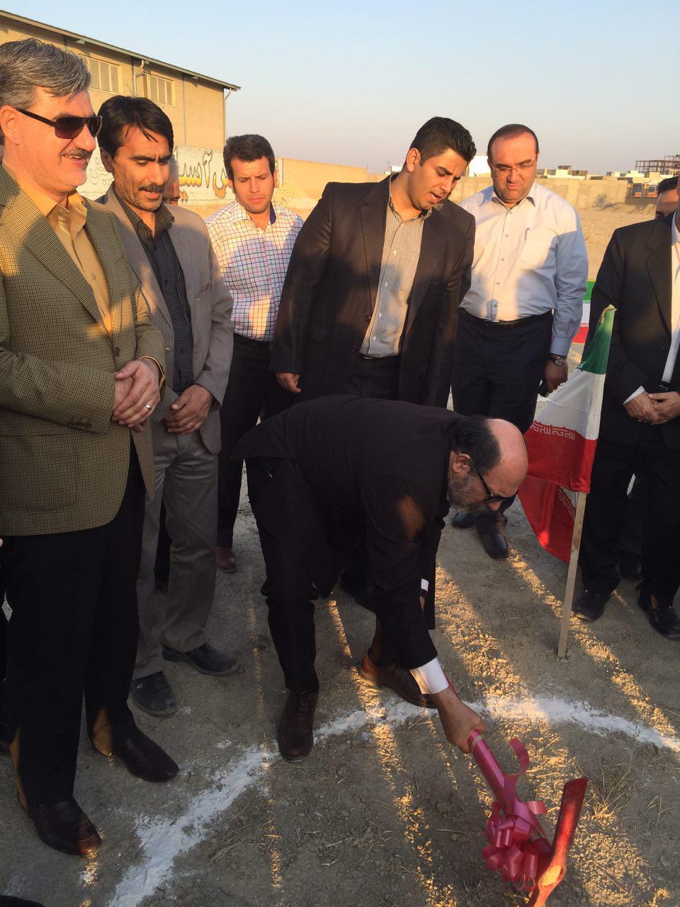 کلنگ احداث سوله ورزشی دانشگاه آزاد اسلامی شیروان به زمین زده شد.
