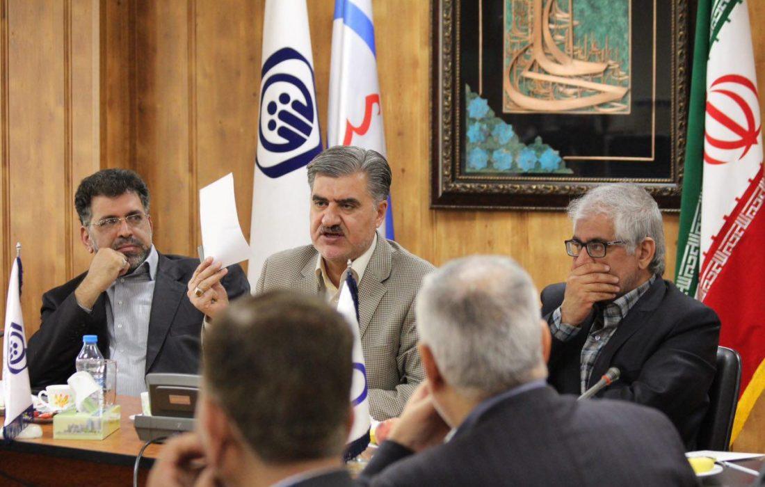 نشست مشترک اعضای کمیسیون اجتماعی مجلس شورای اسلامی با مدیران ارشد سازمان تأمین اجتماعی بیمارستان میلاد