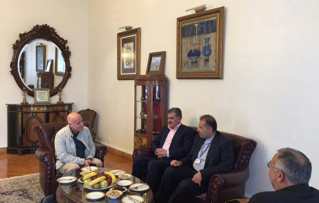 دیدار نمایندگان مجلس با دیپلماتهای سفارت ایران در ترکیه
