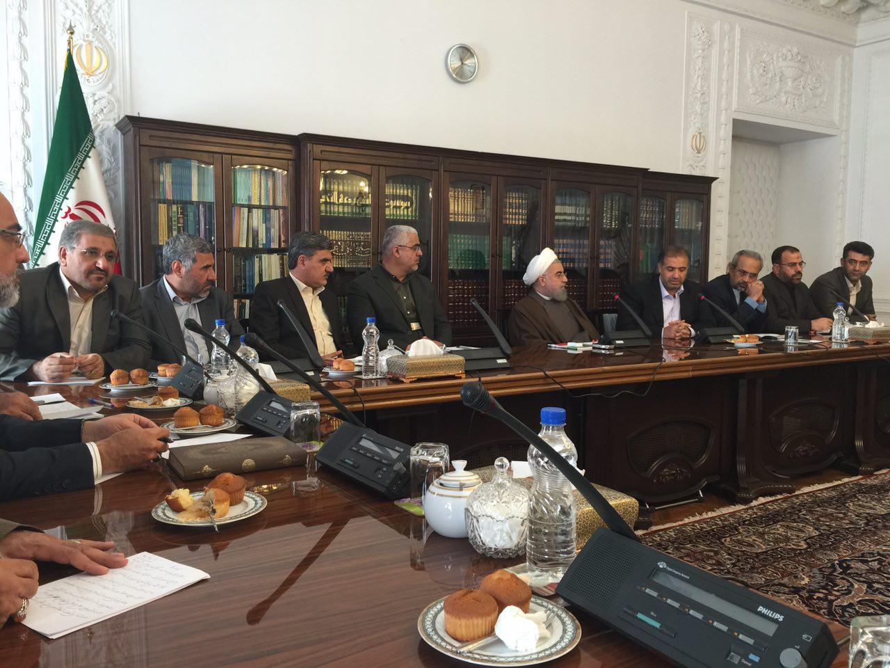 اظهار رضایت روحانی از تعامل دولت و مجلس/ اشتغال؛موضوع جلسه بعدی فراکسیون مستقلین ولایی با رئیس جمهور