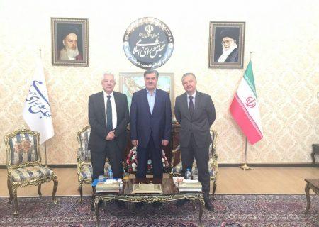 دیدارهای دکتر عزیزی در حاشیه سفر مسئولین کشورهای خارجی به ایران جهت مراسم تحلیف ریاست جمهوری