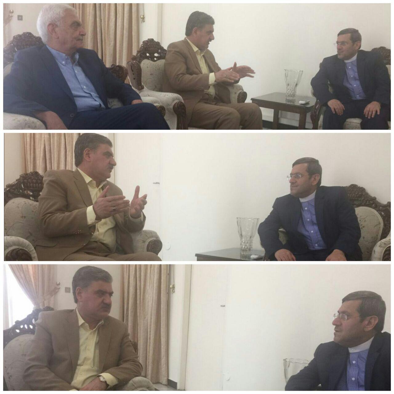 رییسکمیسیون اجتماعی مجلس در دیدار با حسن قشقاوی : سفیران نگاه مناسب اقتصادی داشته باشند