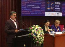 متن ارائه دکتر عزیزى در کنگره جمعیت و توسعه انسانى در جمع نمایندگان مجالس آسیا