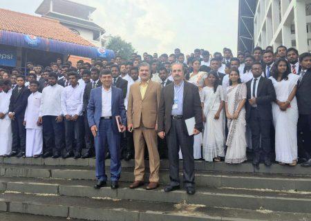 حضور دکتر عزیزی در کنگره آسیایی جمعیت و توسعه انسانی در سریلانکا