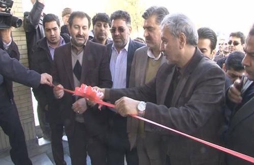 افتتاح درمانگاه تخصصی تامین اجتماعی شیروان با حضور دکتر ربیعی