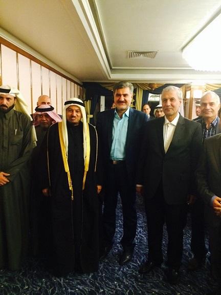 دکتر عبدالرضا عزیزی_وزرای کار ایران و قطر
