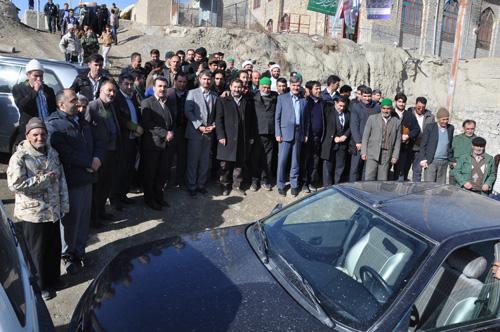 دکتر عبدالرضا عزیزی_دیدار با مردم خونگرم روستای زو